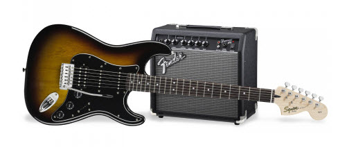 pack guitare fender